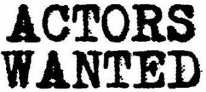 Actors Wanted logo